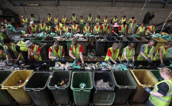 Сбор и переработка мусора