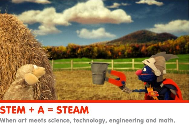 STEAM in Sesame Street curriculum