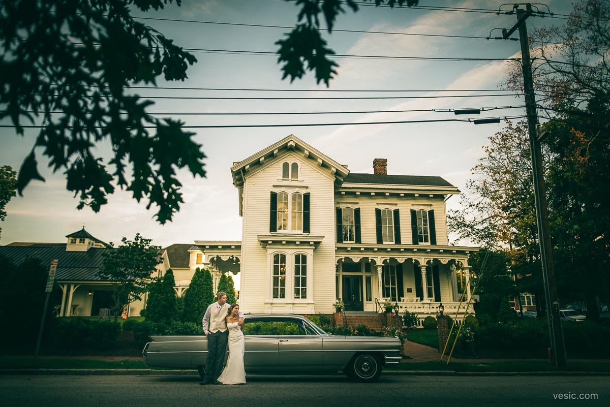 Wedding Photography At The Merrimon Wynne House In Raleigh NC