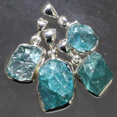 apatite pendants Apatite, Blue, Pendant, Rough, Translucent Quality Vesica Institute for Holistic Studies