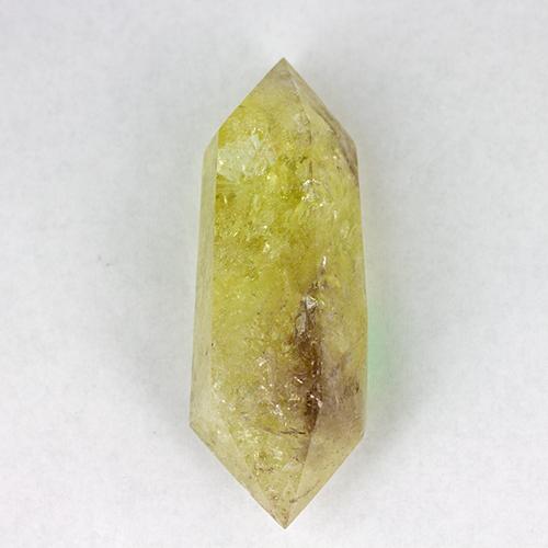 citrine double terminated 1 Citrine, Lemon-Lime, Medium Double Terminated Points Vesica Institute for Holistic Studies
