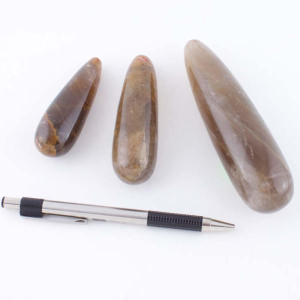 golden quartz massage wand c Quartz, Iron Golden, Massage Wands Vesica Institute for Holistic Studies