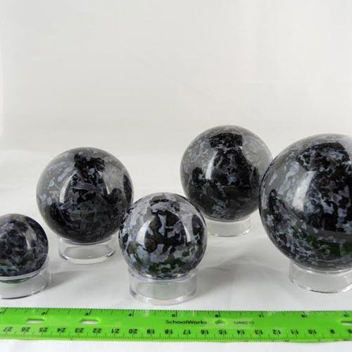 indigo gabbro sphere a Indigo Gabbro, Spheres Vesica Institute for Holistic Studies