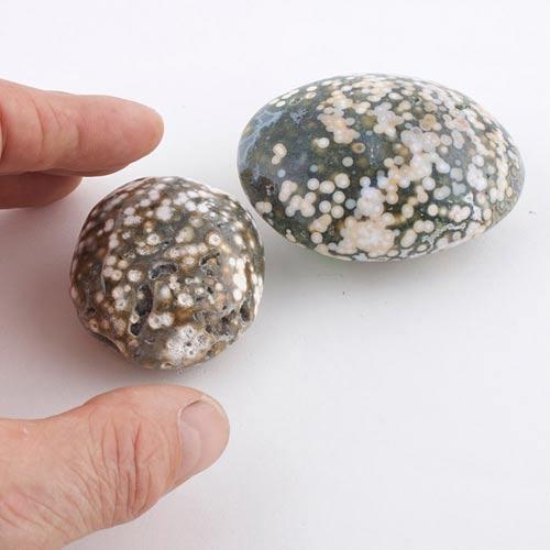 ocean jasper 2 c Jasper, Ocean, with Internal Spheres, Polished Stones Vesica Institute for Holistic Studies