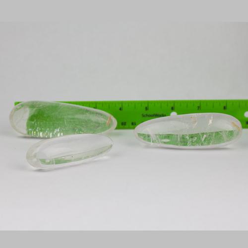 quartz clear massage wands 2 Quartz, Clear, Massage Wands Vesica Institute for Holistic Studies