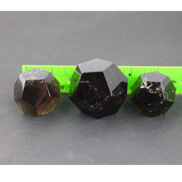 sqd Quartz, Smoky, Dodecahedron, Brazil Vesica Institute for Holistic Studies