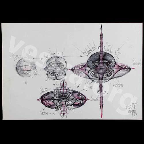"""WM Black Hole """"Black Hole"""" Original Piece by Gabriel Kelemen Vesica Institute for Holistic Studies"""