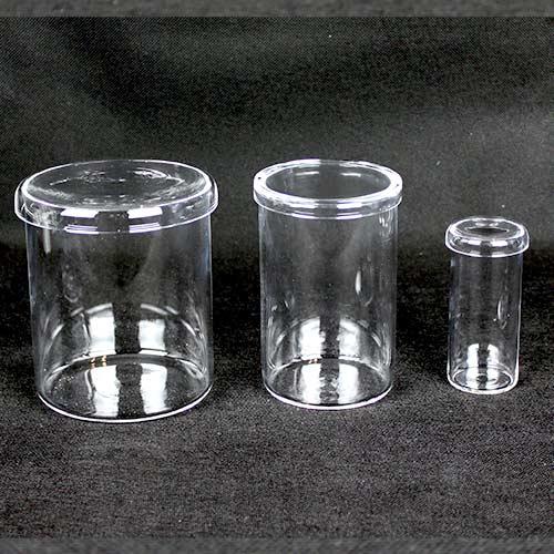 Quartz Cylinders w Lids Full Set 2