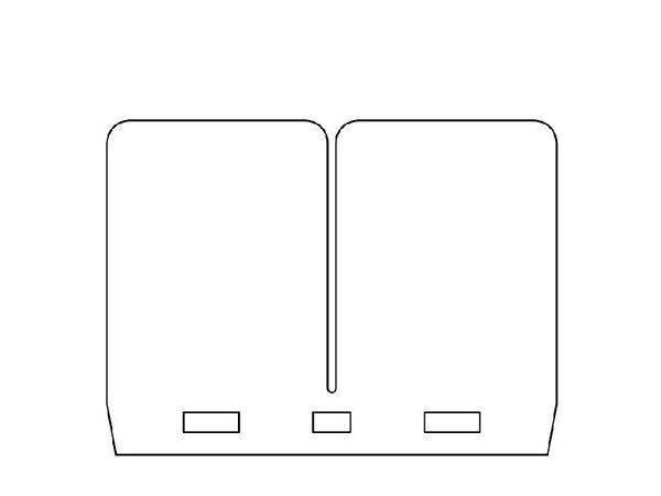 Tassinari Ersatzplättchen passend für Membrane V306FM-M