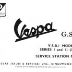 Vespa GS 160 V.S.B.I Model Series 1 & 2 Service Station Manual