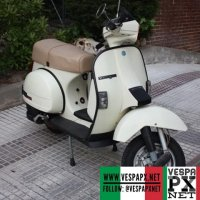 MotoVespa TX 200 from Spain based on Vespa T5, read more about it in our web.
