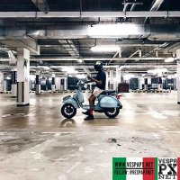 Vespa PX 150 70th anniversary Settantessimo limited edition with 12 inch conversion and primary gear  @thespecialk