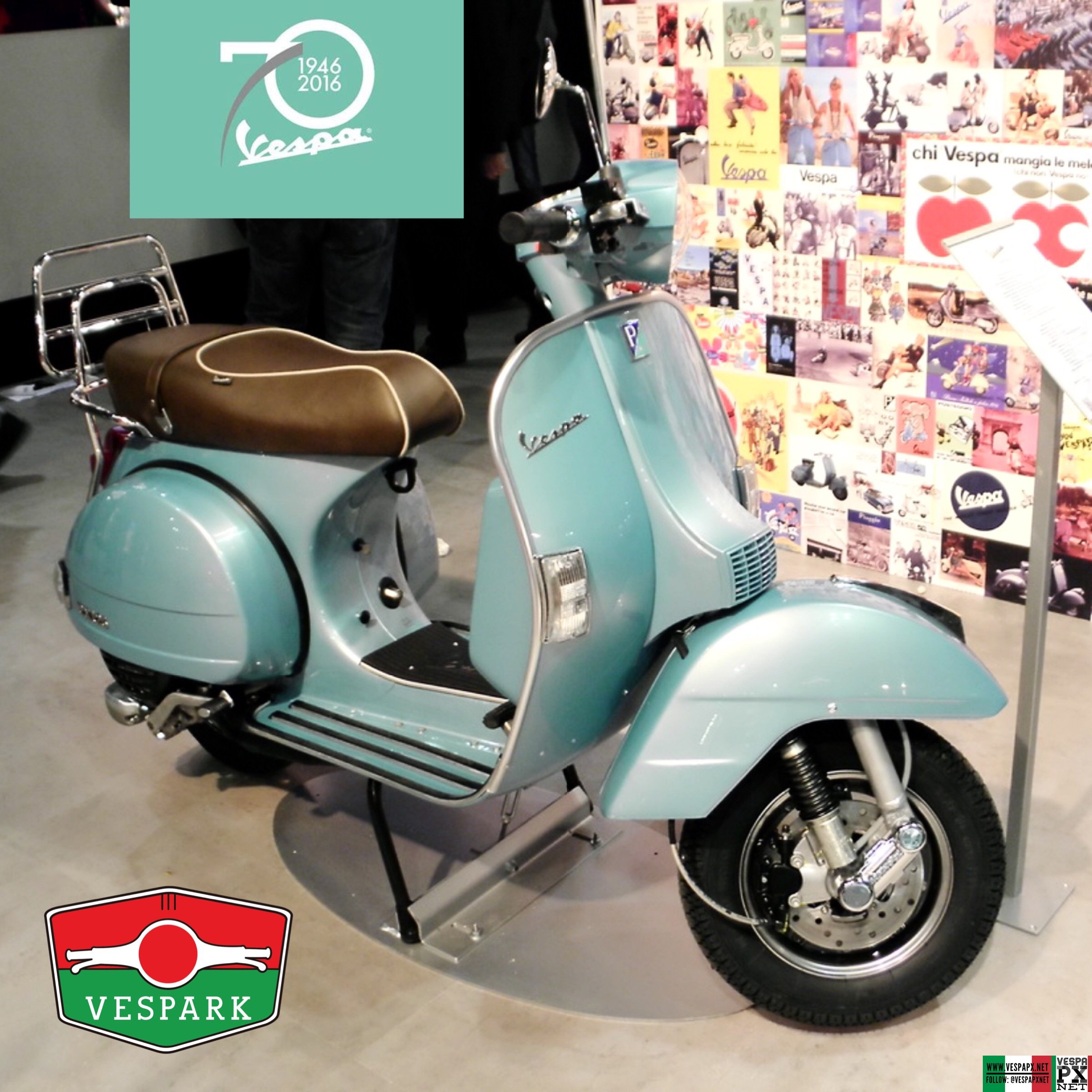 vespa px 70th anniversary vespa px. Black Bedroom Furniture Sets. Home Design Ideas