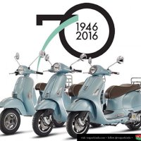 Vespa 70 Anniversary Limited Edition