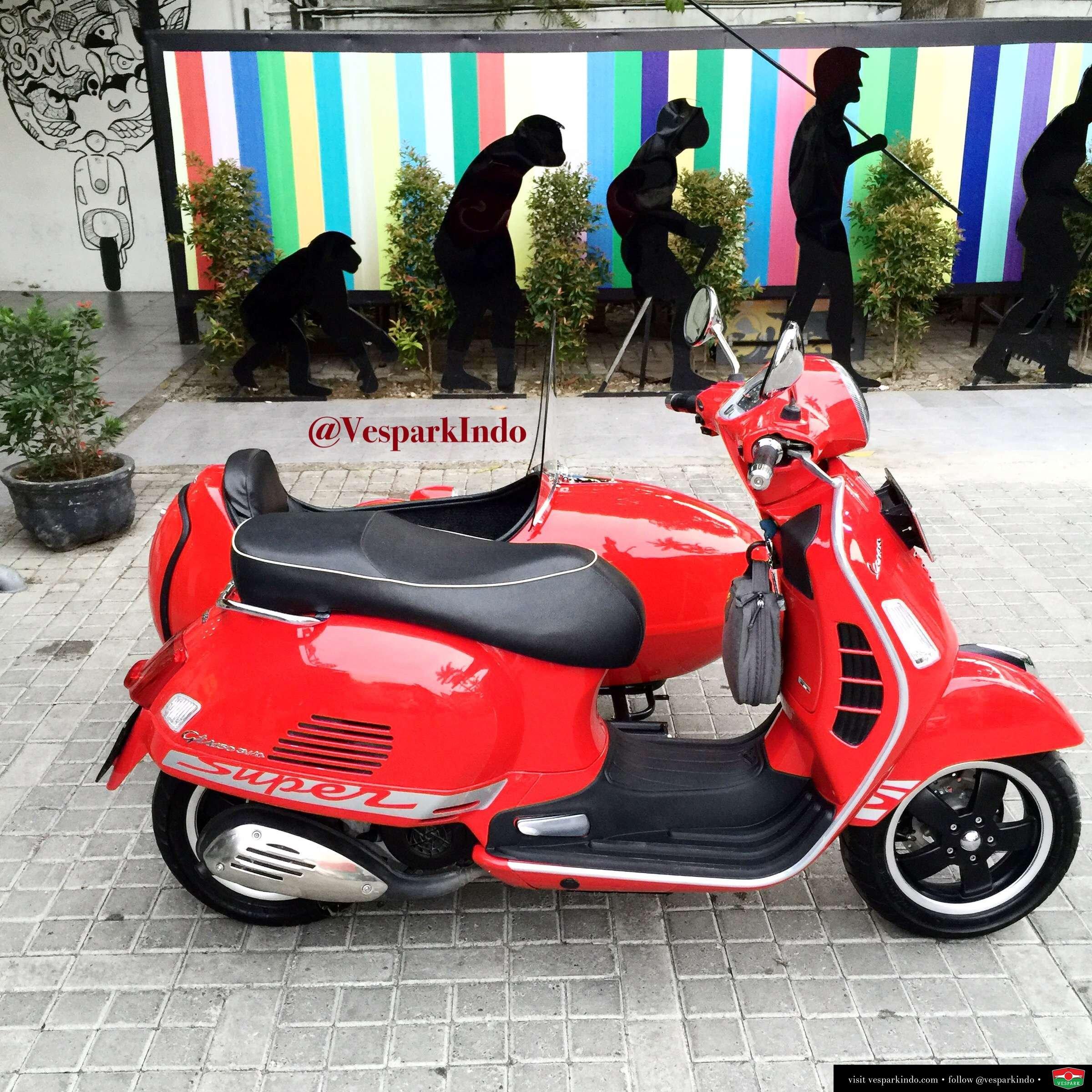 Vespa Sidecar | Vespa Medan Vespark