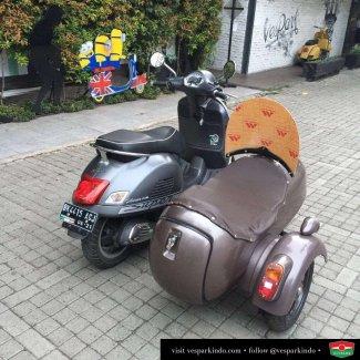 vespa sidecar seat cover