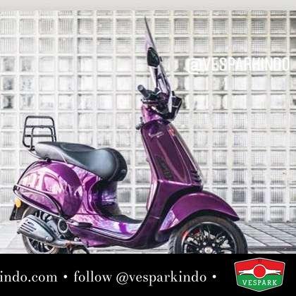 Purple Vespa Sprint? Custom Vespa @iconscooters