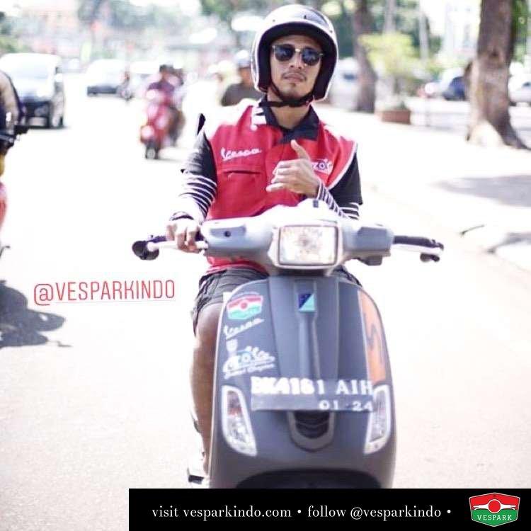 Vespa S riding @rpdewo