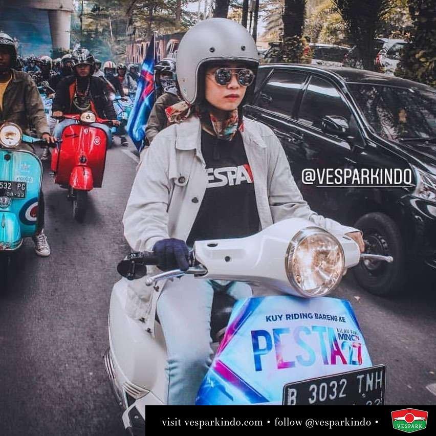 Vespa riding weekend, riding kemana? @abehkecil