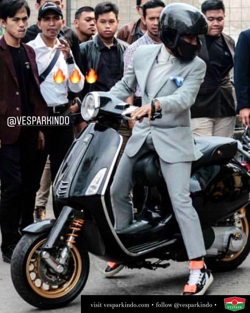 Gentlemen's ride Vespa Primavera @fristoemilio