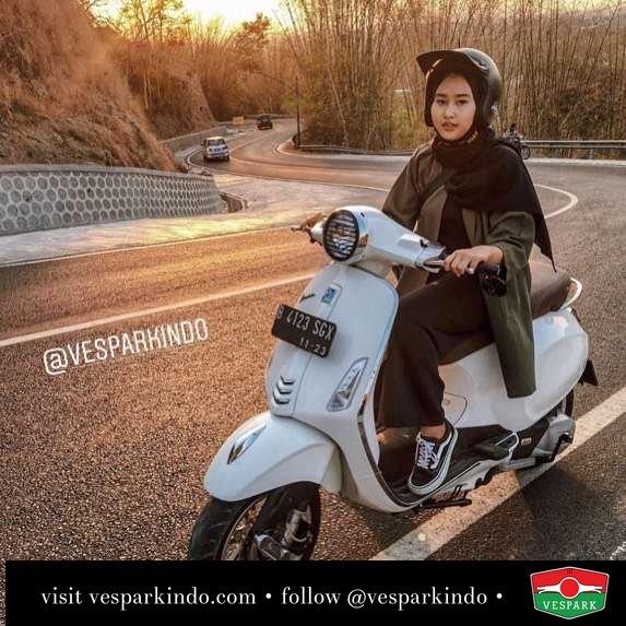 Let's ride Vespa Primavera @flawriin_