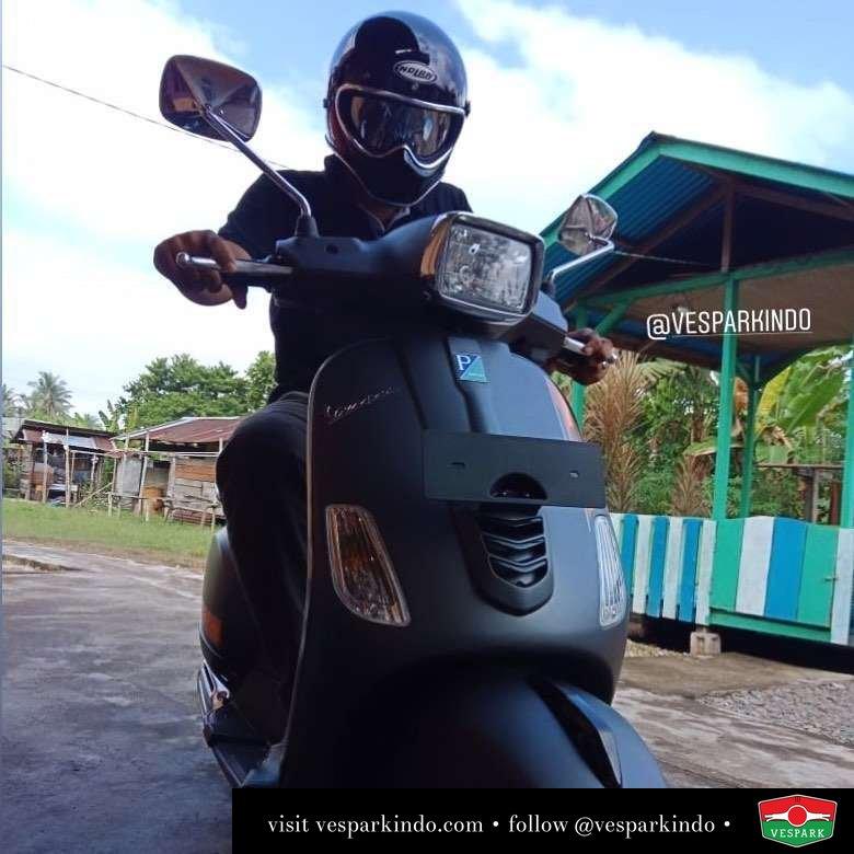 Vespa S 125cc i-get, matt Grey, Delivery to indra syahputra, PEKANBARU (kepulaun meranti) Welcome to Vespark family