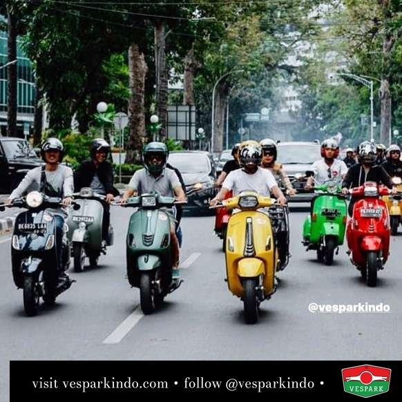 Vespa riding @dirgabeje