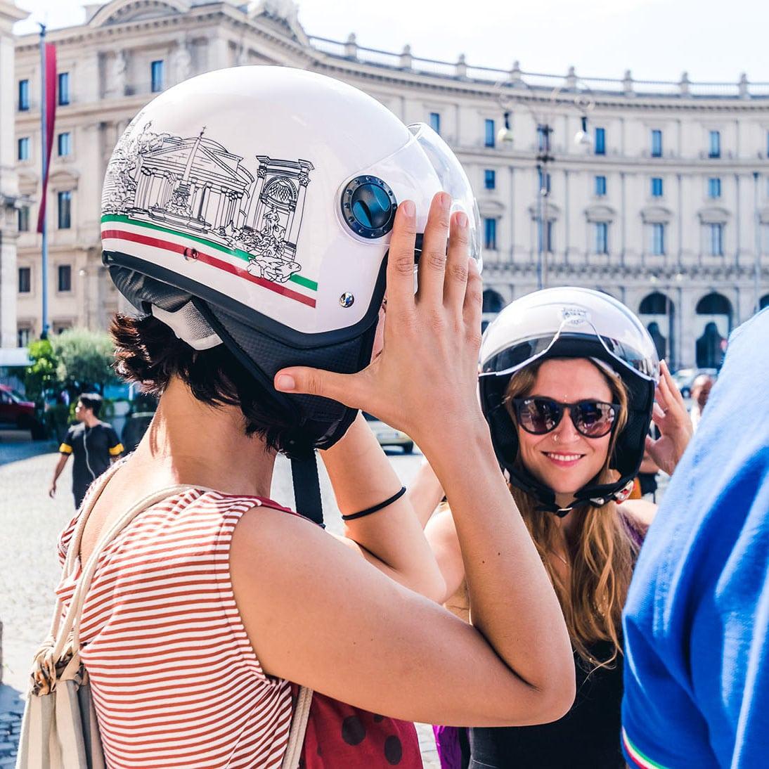 Vespa Sidecar Tour - Piazza della Repubblica