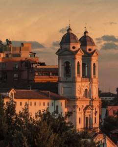 Vespa Sidecar Tour - Rome at Sunset Tour - Trinita dei Monti