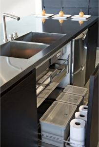 functional pull out under sink storage