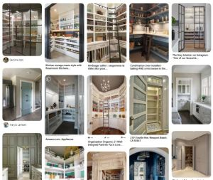 Pinterest board of pantry ideas