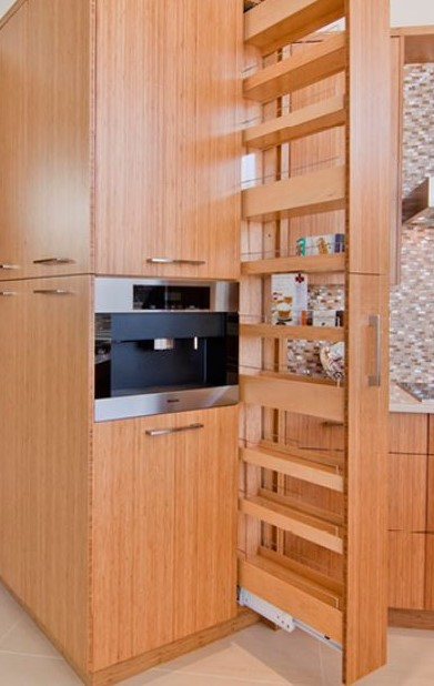 """Pullout pantry 9"""" wide"""