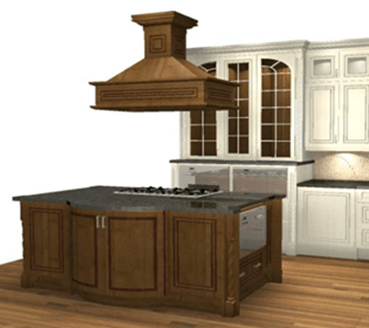 Perspective of Masterpiece Kitchen