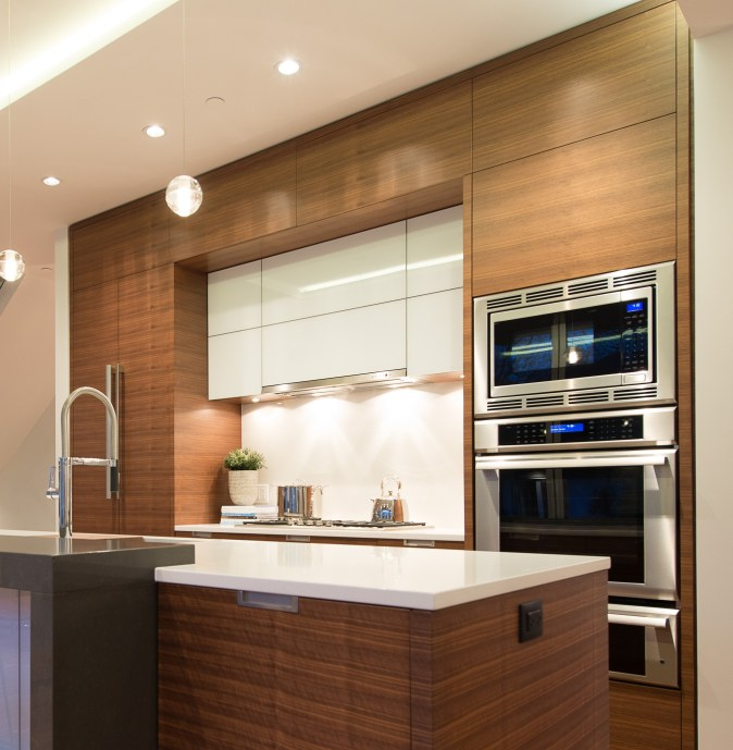 Veneer and gloss white modern cooking hearth