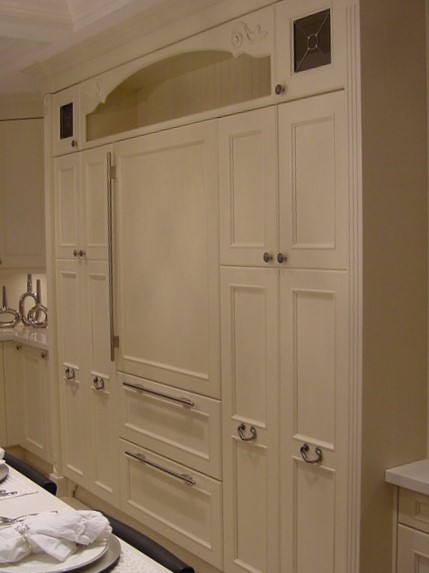 Furniture look fridge and pantry