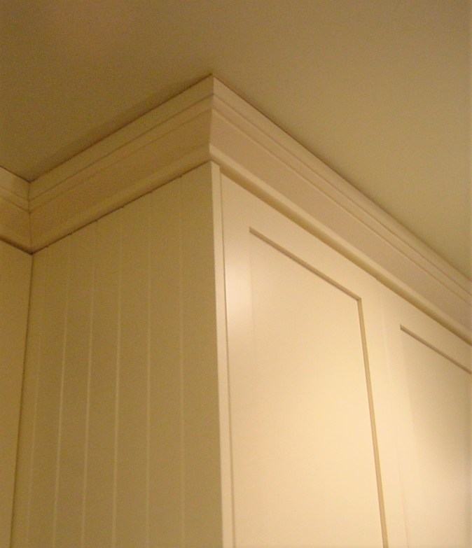 standard moulding and bead bard end panel