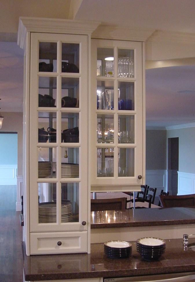 white mullion glass doors