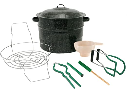Basic home canning supplies