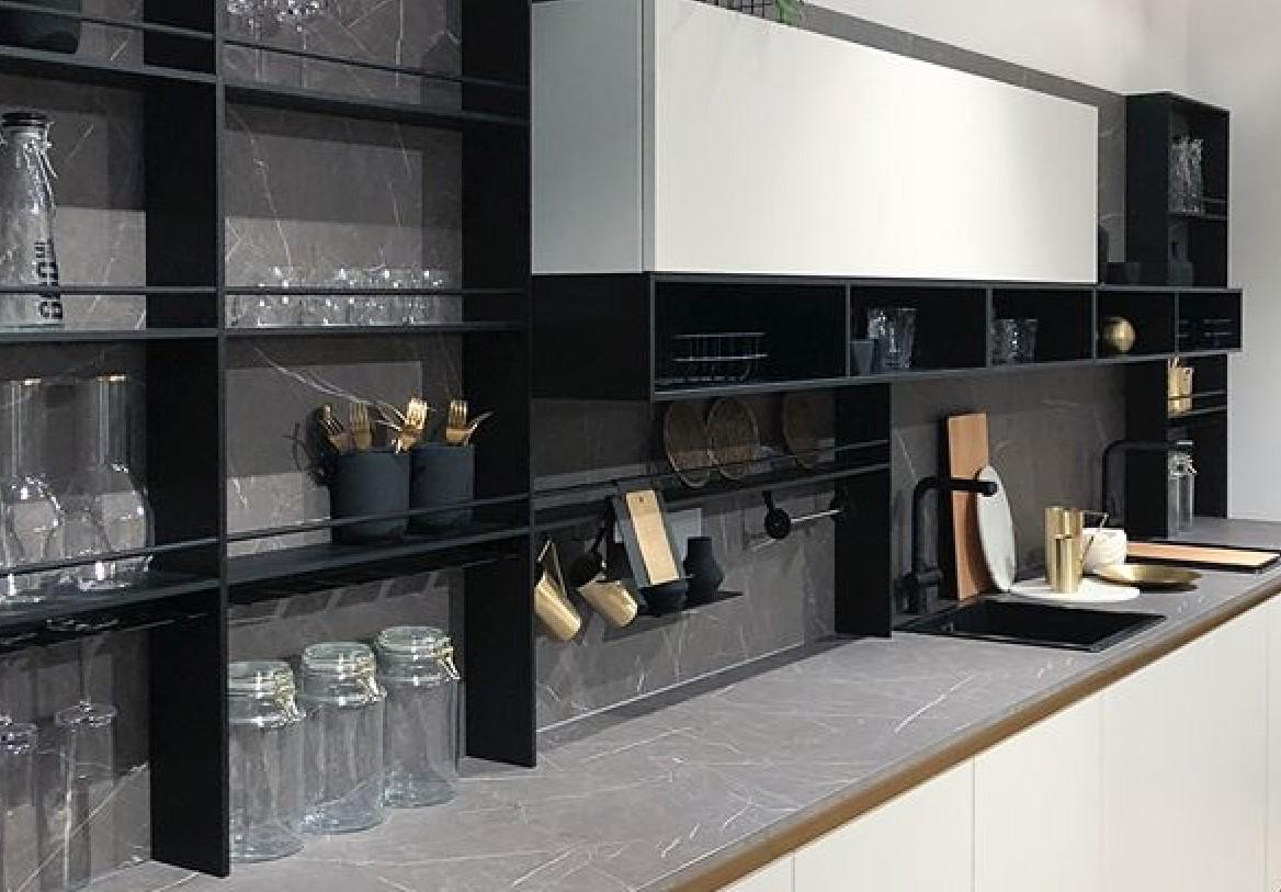 backsplash shelves