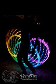 VestaFire LED hoop play 2
