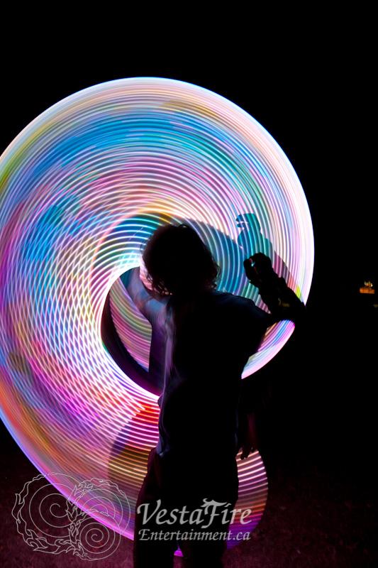 VestaFire LED hoop play 4