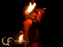 muscular fire performer in Vancouver for VestaFire