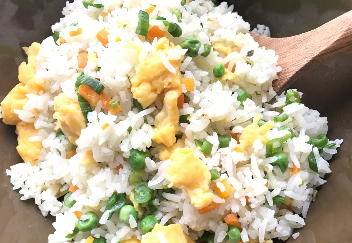 Basic And Healthy Homemade Fried Rice Recipe