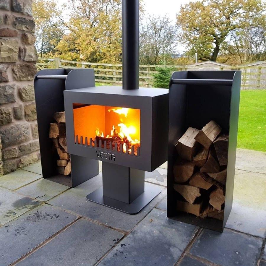fiesta garden stove and chimnea