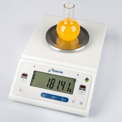 DL 122 212 312 612 1102 4 - Лабораторные весы ДЭМКОМ DL-312