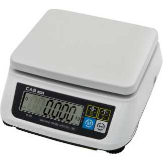 cas swn  - Влагозащищённые порционные весы CAS FW500-30C