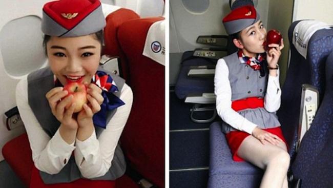 Резултат с изображение за китайска стюардеса