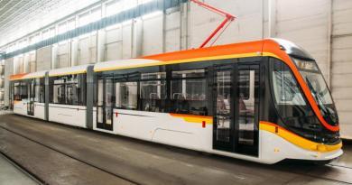 новая модель трамвая