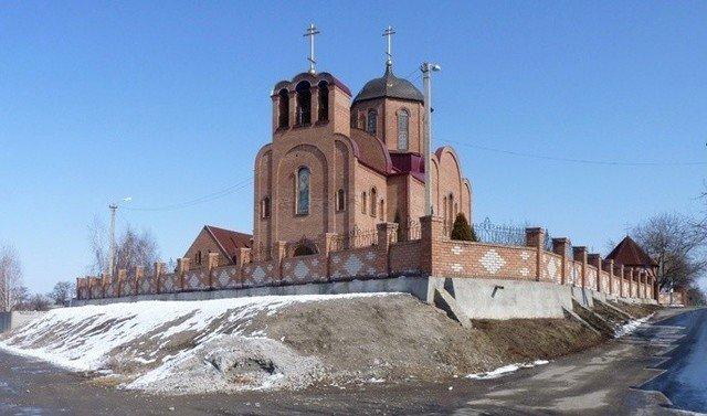 Свято-Покровский храм в Ломовке