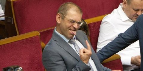 Украинский неонацист устроил банкет в честь Голодомора